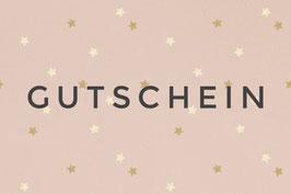 """GUTSCHEIN """"Design Stars rosé"""""""