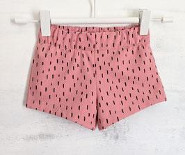 Shorts Cherimoya Stripes altrosé 68