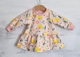 Sweater mit Volant Frühling pastellapricot 56