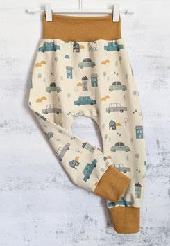Cool Pants Piischi Hose City Life pastellgelb/senf 104