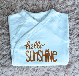 Body hello Sunshine ocker/hellblau/dunkelblau/gold/rot/schwarz/türkis