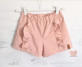 Cord- Shorts Cherimoya puderrosa 110
