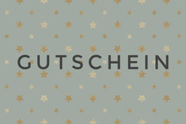 """GUTSCHEIN """"Design Stars mint"""""""