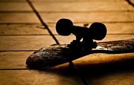 Glasbild Skate Deck