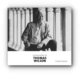 "CD ""Guitar Works of Thomas Wilson"""