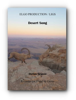 """Desert Song"" for alto recorder or flute and guitar"
