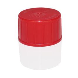 Sicherheitsverschlussdeckel Rot