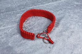 Hundehalsband breit, Handarbeit