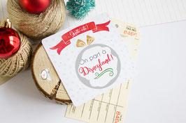 Carte à gratter - Boule de Noël