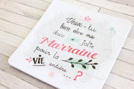 Puzzle Premium : Demande Marraine