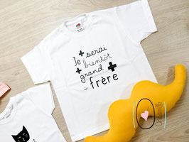 Body/ Tee-shirt - Futur Grand frère