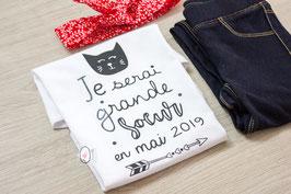 Body/ Tee-shirt - Future Grande soeur - MOIS -