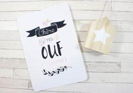 Carte postale : T'es OUFissime