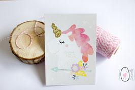 Carte postale à gratter : Tu vas être tata