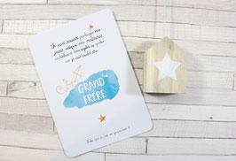 Carte postale : Bientôt Grand Frère !