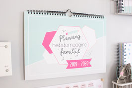 Planning hebdomadaire familial 2019-2020