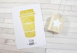 Carte postale : Team Café