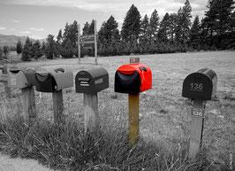 Schwarz/Weiss - Postbox