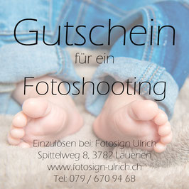 Fotoshooting Kind