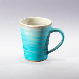 Die  Tasse mit Drehrillen