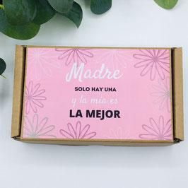 CONJUNTO MADRE SOLO HAY UNA  pulsera + pañuelo colores