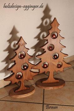 Weihnachtsbäume Holz