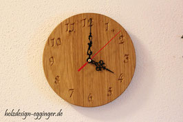 Uhr Eiche Rustikal