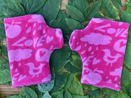 Love pink - Fingerlose Handschuhe Gr. 2