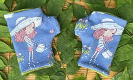 Gartenmädchen - Fingerlose Handschuhe Gr.1