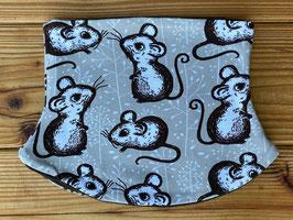 Mäuse braun - Loop gefüttert mit Fleece