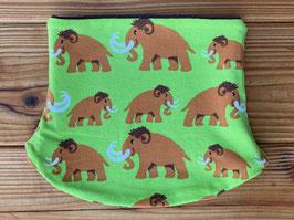 Mammuts grün - Loop gefüttert mit Fleece