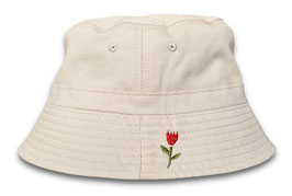 BABY FLOWER BUCKET HAT