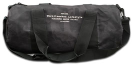 BLACK CAMO BARRELBAG