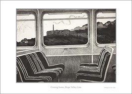 'Coming Home, Hope Valley Line' art poster