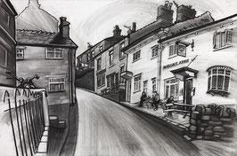 Up High Street Fine Art Print