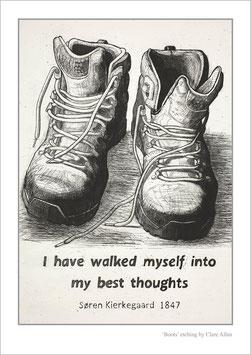 'Boots' art poster
