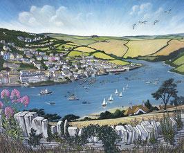 Salcombe From East Portlemouth Art Print