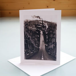 Swizzels Hill Greeting Card