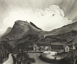 Back Tor Farm Fine Art Print