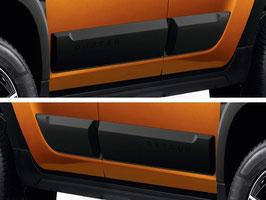 Modanature Paracolpi Laterali Dacia Duster II 2018+
