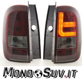 Kit 2 Fanali Stop Posteriori LED Smoke Red Dacia Duster 10-17