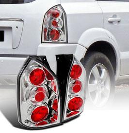 Kit 2 Fari Stop Posteriori Cromati Hyundai Tucson 04-10