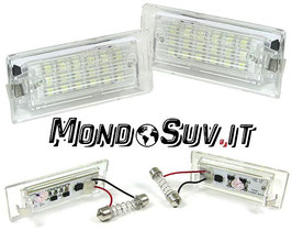 Kit 2 Luci Targa LED Canbus BMW X5 E53 00-06