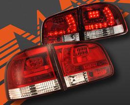 Kit 2 Fanali Stop Posteriori LED Rossi VW Touareg 02-09