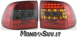Kit 2 Fanali Stop Posteriori LED Smoke Red Porsche Cayenne 02-06