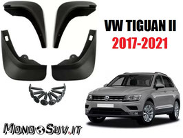 Paraspruzzi Paraschizzi VW Tiguan II 2017+ (4 Pezzi)