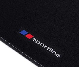 Set 4 Tappeti Auto Moquette SportLine Nissan X-Trail 2014+