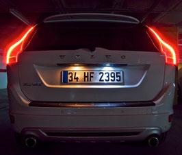 Kit 2 Luci Targa LED Canbus Volvo XC60 12-14