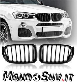 Kit Calandre Griglie Anteriori M-Tech BMW X3 F25 2014-17