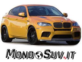Kit Calandre Griglie Anteriori M-Tech BMW X6 E71 08-13